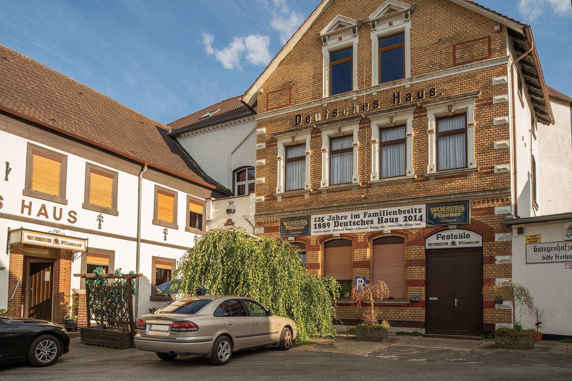 Deutsches Haus, Hotel in Schöningen im Landkreis Helmstedt.
